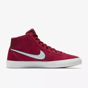 Nike Shoes - Nike SB Bruin High Womens Shoes Red Size 7 NWT